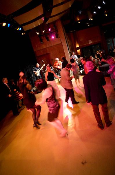 Dance floor at Strings