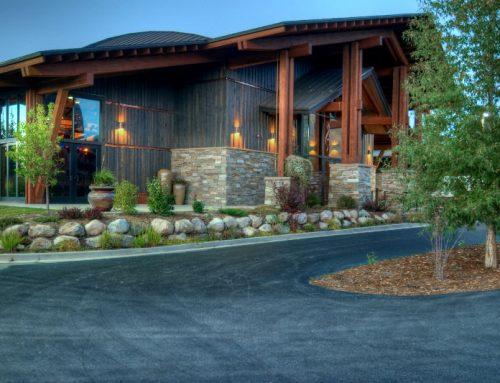 Strings Pavilion Driveway