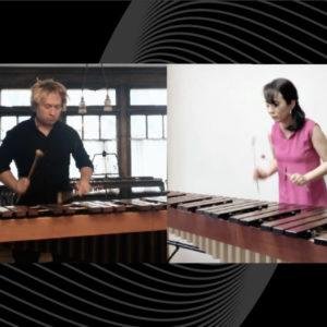 Vadim and Mayumi marimba duo