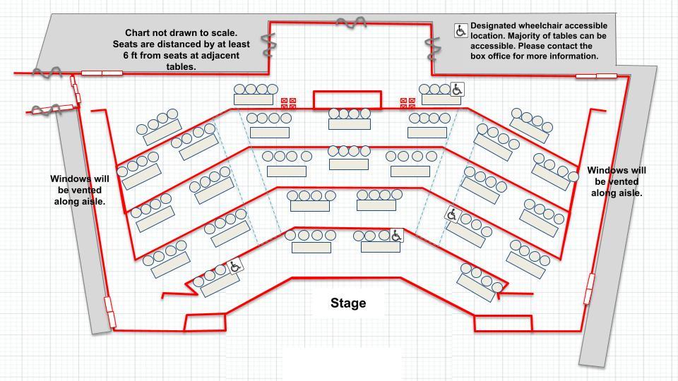 Pavilion 112 seating capacity